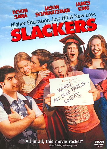 SLACKERS BY SEGEL,JASON (DVD)